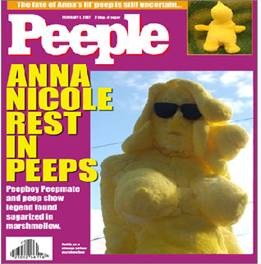 Anna Nicole, the Peep