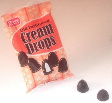 Necco Old Fashioned Cream Drops Bag