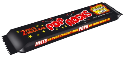 Pop Rocks Chocolate Bar